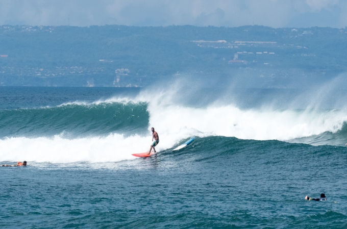 Canggu surf spots- Batu Bolong Beach